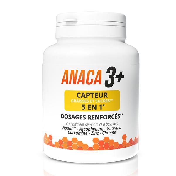 Anaca3+ Capteur graisses et sucres 5 en 1